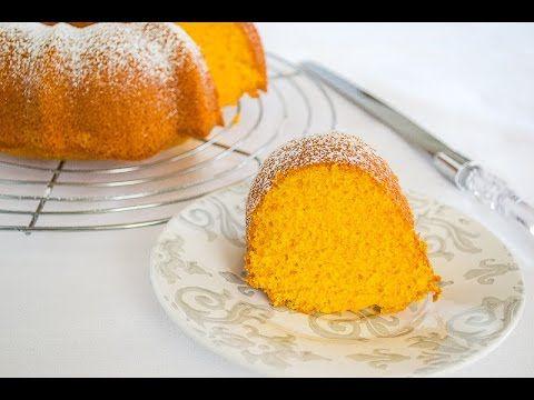 Queque de Zanahoria en Licuadora (Bolo de Cenoura – Brazilian Carrot Cake) | Mi Vida en un Dulce