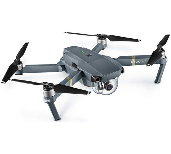 The DJI Mavic Pro is a small yet powerful drone that turns the sky into your creative canvas easily and without worry, helping you make every moment an aerial moment. Its compact size hides a high degree of complexity that makes it one of DJI's most sophisticated flying cameras ever. 24 high-performance computing cores, an all-new transmission system with a 4.3mi (7km) *range, 5 vision sensors, and a 4K camera stabilized by a 3-axis mechanical  £1099
