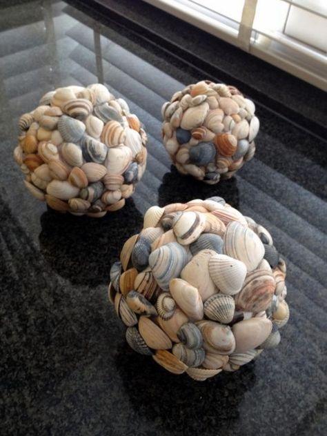 Super 45 Inspirational Sea Shell Craft DIY Ideas