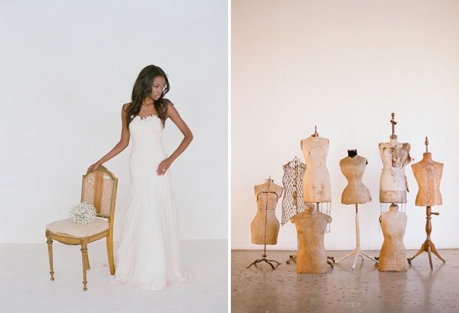 Fashion + Beauty Trends for 2013 from The Knot Magazine with Elizabeth Messina + Found Vintage Rentals