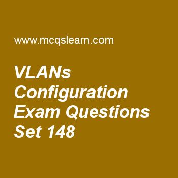 Practice test on vlans configuration, computer networks quiz 148 online. Practice networking exam's questions and answers to learn vlans configuration test with answers. Practice online quiz to test knowledge on vlans configuration, wireless networks, periodic analog signals, spread spectrum, flow and error control worksheets. Free vlans configuration test has multiple choice questions as virtual lans create, answers key with choices as broadcast domains, limited domains, metropolitan...
