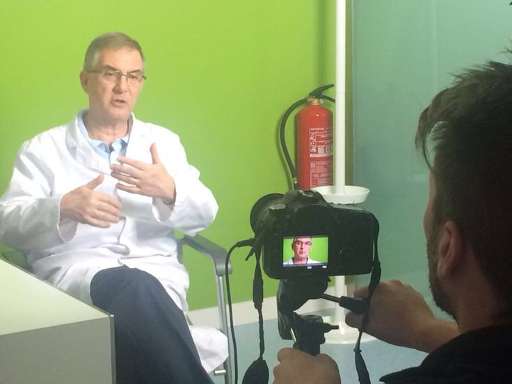 Sesión Vídeo con el Dr. Alberto Martí Bosch de Sensity, para su canal de Youtube.