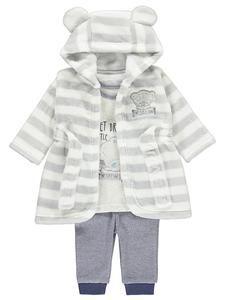 Baby Tatty Teddy Clothing Online: Pyjamas & Fleece Robe Set – Novelty-Characters