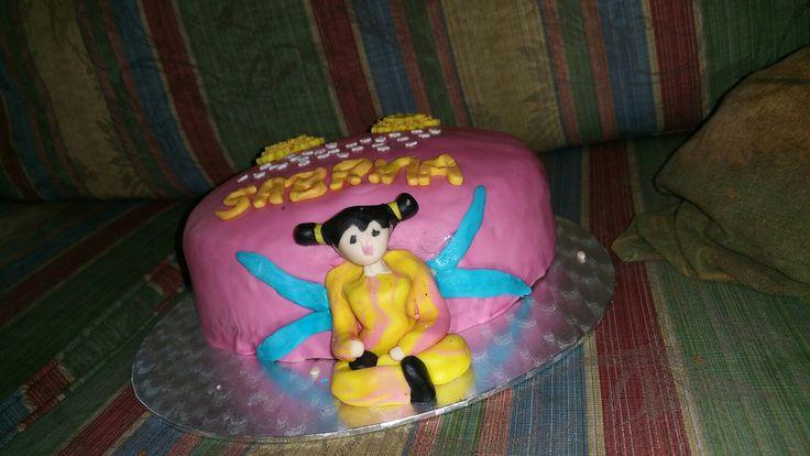 Winx Club taart