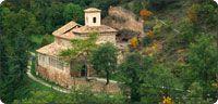 """Monasterio de Suso. San Millán de la Cogolla. Patrimonio de la Humanidad. Monastery of """"Yuso."""" Founded by San Millán in the 5th Century."""