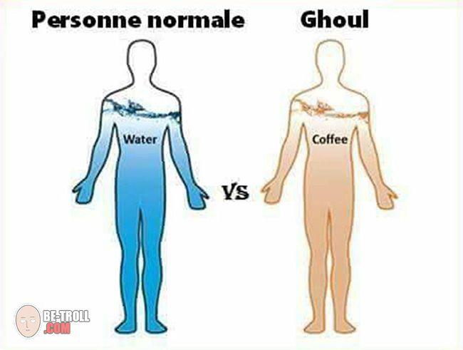 Personne normale vs Goule - Be-troll - vidéos humour, actualité insolite