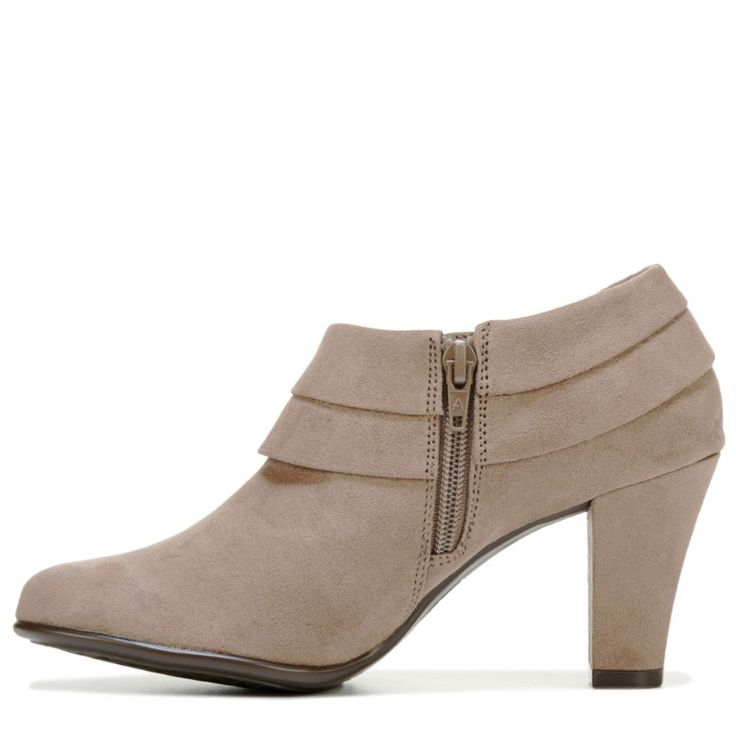 Aerosoles Women's Role Player Booties (Taupe Fabric)