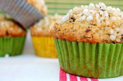 la cuoca imperfetta: Muffins Cannella, Nocciole e Semi di Papavero per la Zuccheriera