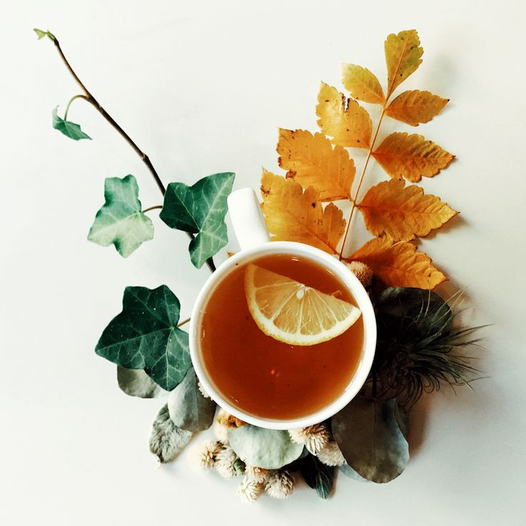 Ginseng & Ginger Tea for a Lovely Autumn Day.