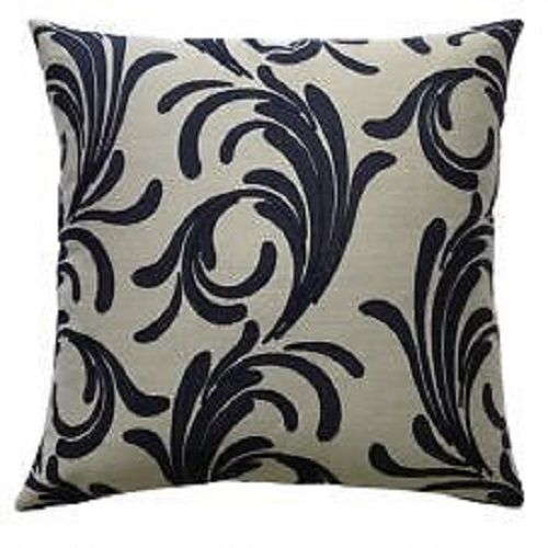 Venitia Cream/Black Cushion Cover – Linen and Bedding