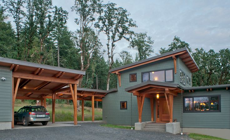 78 best house plan images on pinterest blueprints for for Contemporary timber frame house plans
