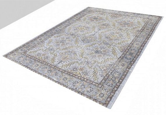 OVERDYED Vintage Turkish Rug 6.7 X 3.9 FT 205 X 118 by RetroRugs