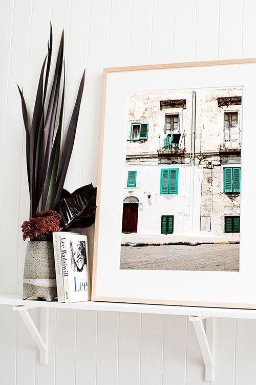 'Italian Shutters' Photographic Print © Kara Rosenlund