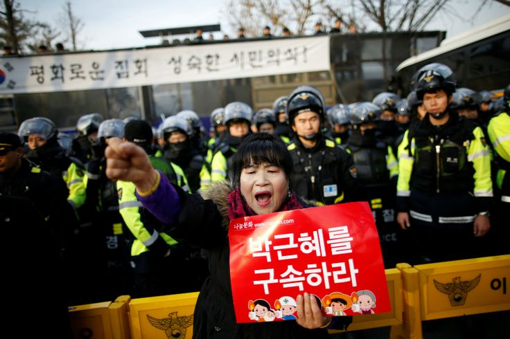"""South Korea - Dec 8, 2016 - """"In Megalia, a groundbreaking feminist website launched last year, Ms. Yun, who asked to use a pseudonym to protect her identity, found a fresh weapon to challenge the sexual harassment she faced online. It was a tactic called """"mirroring."""" By flipping around the sexist comments that litter the web forums where young South Koreans congregate, and hurling them back at men, she joined a fast-growing community in fighting back."""""""