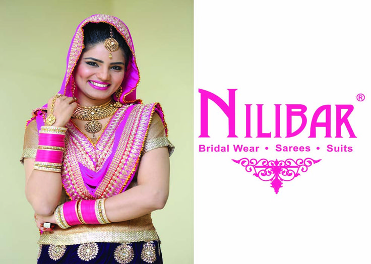 . Reinvent color combination of  lehenga with embroidery work for wedding & sangeet occasions by Nilibar.Shop now :          www.nilibar.com...           #shopnow #nilibar #traditional #designer #embroidery #lehenga #wedding #sangeet
