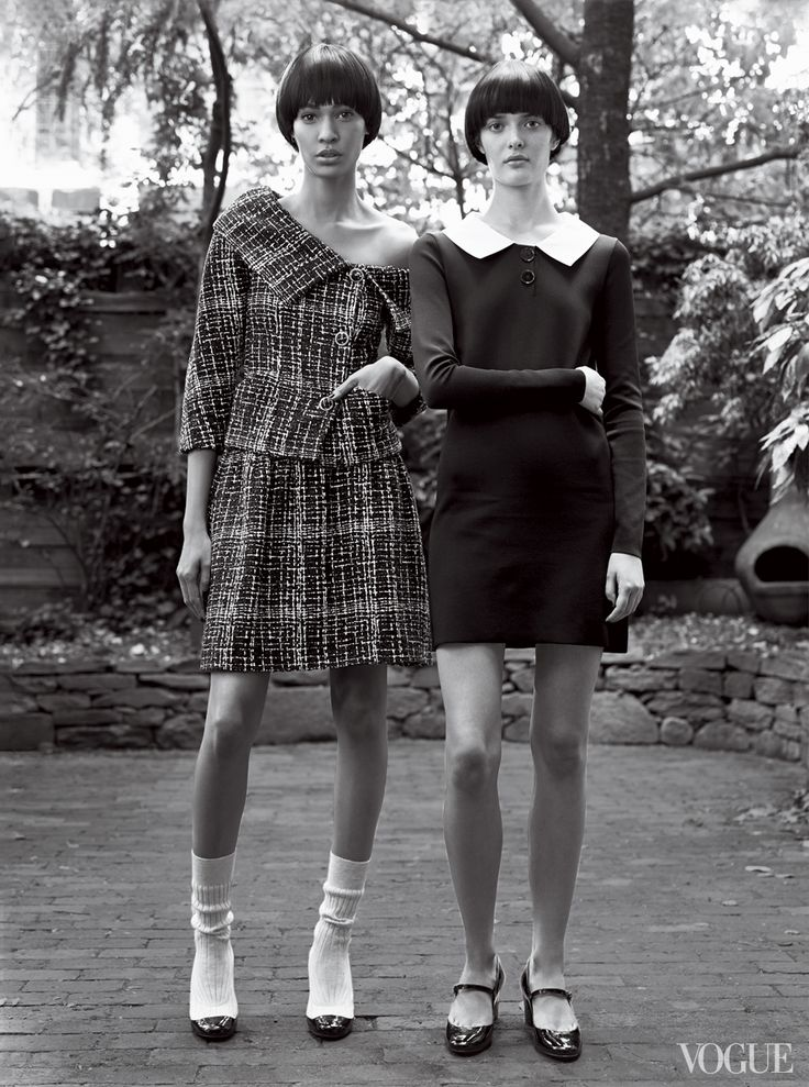 More Is More: How to Wear the Spring 2014 Collections - Photography: Craig McDean for Vogue US