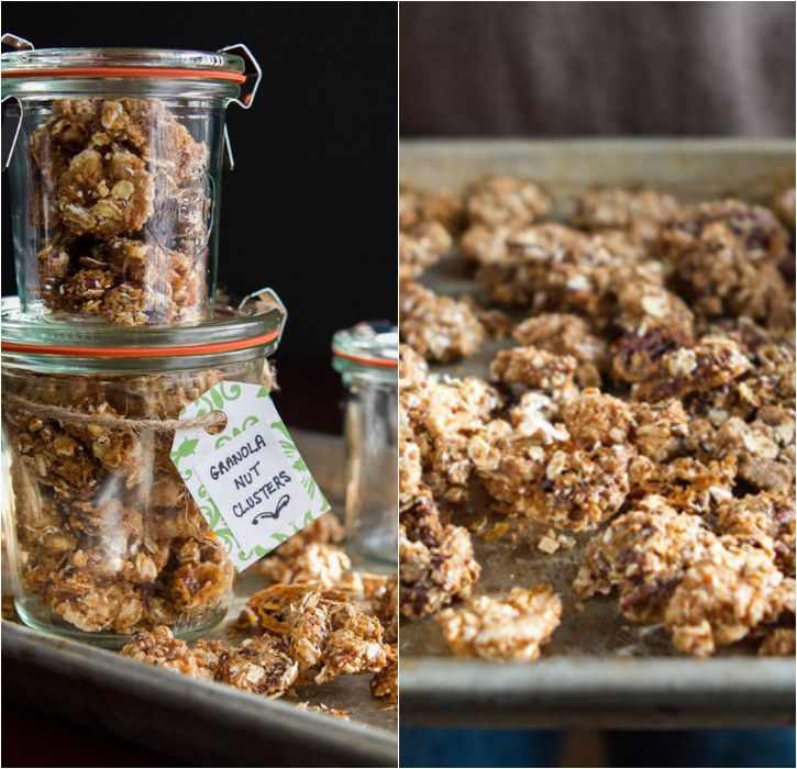 Handmade Gifts: Granola Nut Clusters on eatboutique.com