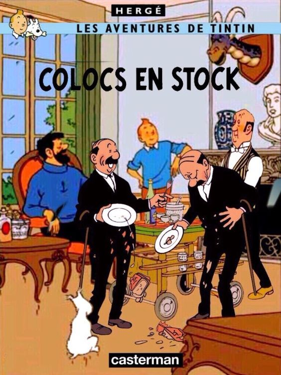 Les Aventures de Tintin - Album Imaginaire - Colocs en Stock