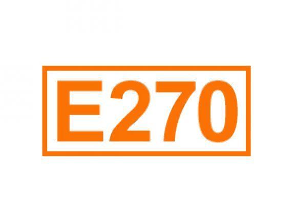 E 270 auch Milchsäure genannt. Erfahren Sie alles über diese Kennzeichnung von Lebensmittelzusatzstoffen, ihren Einsatz sowie Bedenklichkeiten.