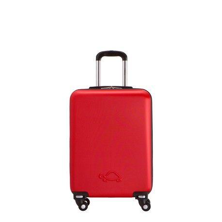 Trolley rigido in ABS. Presenta divisorio interno con 2 tasche elastiche aperte, una tasca a rete con zip di chiusura ed elastici ferma abiti.<br /><br><b>CARATTERISTICHE FUNZIONALI :</b><br /><br>- Ruote staccabili con semplice scatto a molla per far rientrare il bagaglio nelle misure accettate dalle compagnie Low Cost<br /><br>-Capacità maggiore rispetto a bagagli della stessa categoria<br /><br><b>BREVETTO ESCLUSIVO CARPISA
