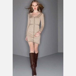 Detailed Line Dress Camel Black . Winter is coming, snag this for $69 before it's back up to $155: Dresses Topmod, Camels Dresses, Fashion Dresses, Details, Dressy Messy, Fab Com, Camels Black, Dresses Camels, Fashion Book