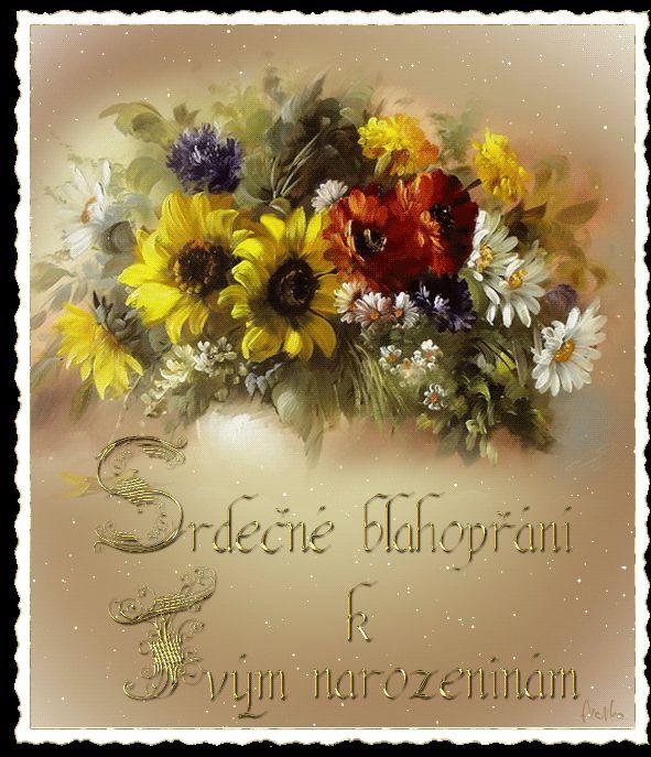 Narozeninové pohlednicové třpyt | Tvoření
