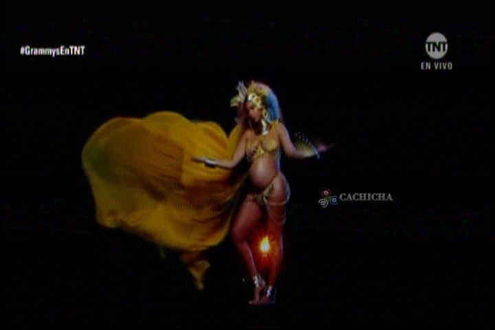 La Impactante Presentación De Beyonce Embarazada En Los Grammys