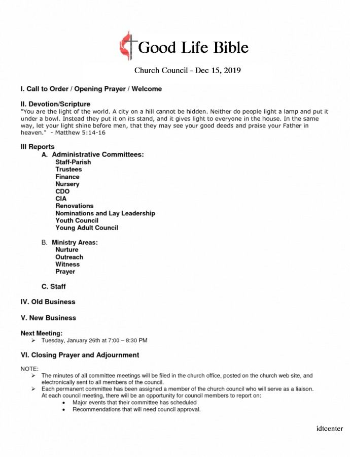 Pin On Business Agenda Template