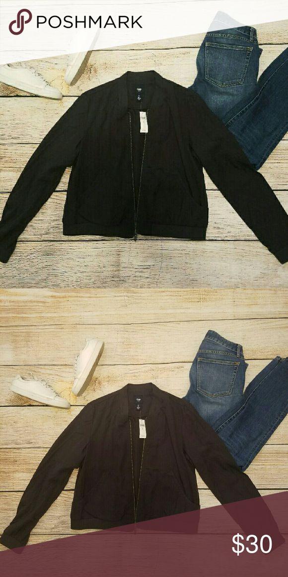 Gap Factory dark grey bomber jacket NWT GAP Jackets & Coats Utility Jackets