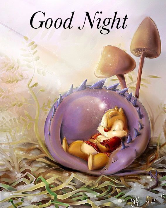 Good night, sweet dreams !