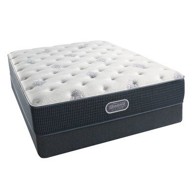 """Simmons Beautyrest Long Beach Island 13.5"""" Plush Pillow Top Innerspring Mattress Size: Twin XL"""