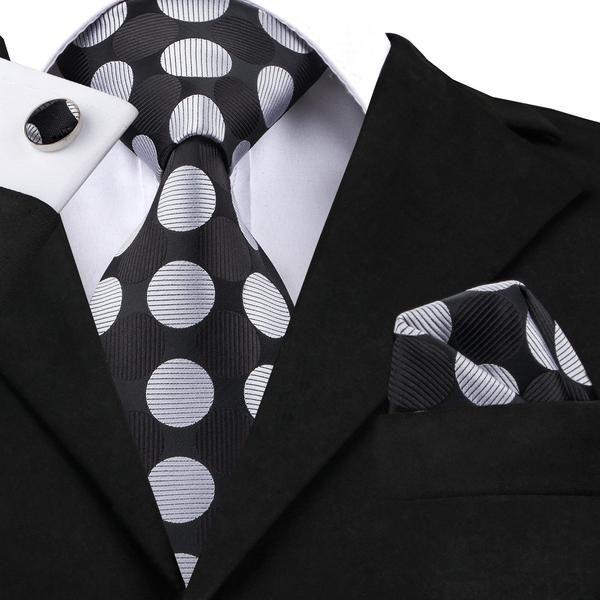 Silk Pocket Square Mens Handmade Designer Navy Polka Dot Handkerchief Suit