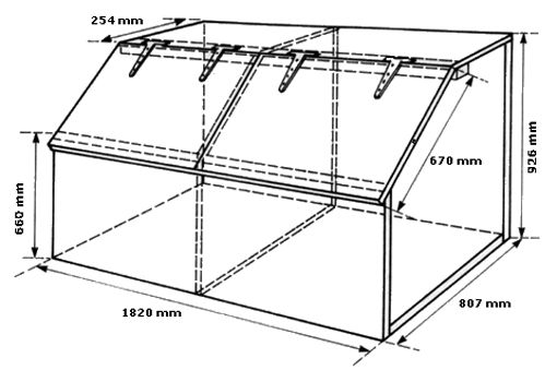 DIY Wooden Feed Bins | Add metal sheeting to the bottoms for increased pest and water resistance.
