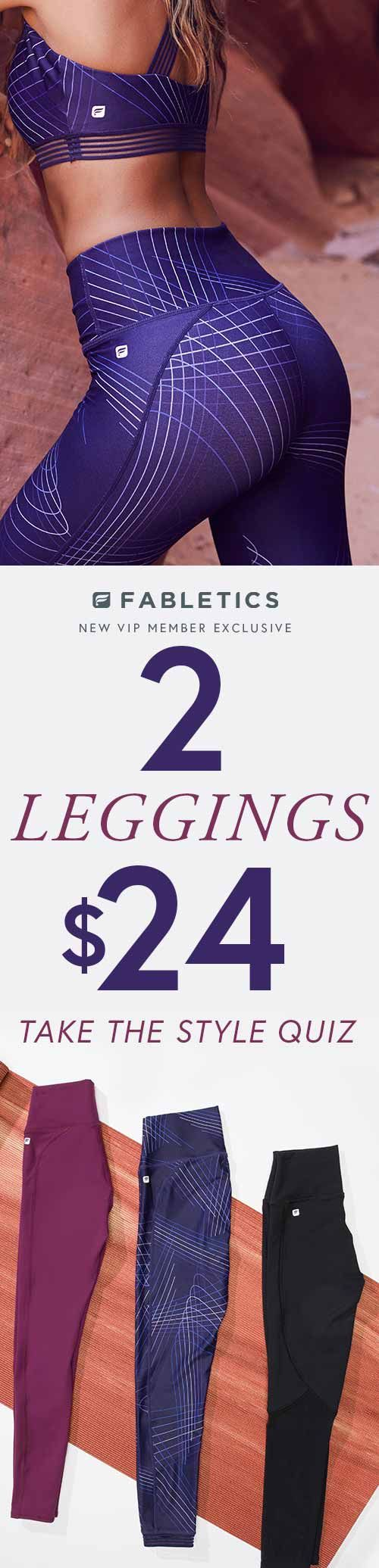 Stylish, Technically Efficient Activewear Designed for All Shapes and Sizes. Take Our Quick 60 Second Style Quiz to Get Your First 2 Styles for $24!