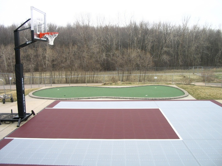 11 best backyard basketball courts images on Pinterest ...