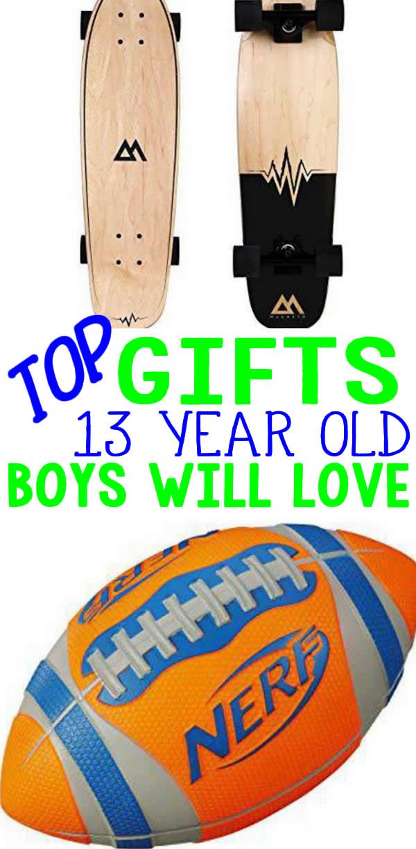 Gifts 13 Year Old Boys The Best For A Boy Great Birthdays Christmas Holiday Or Just Because Cool Gift Ideas That Any
