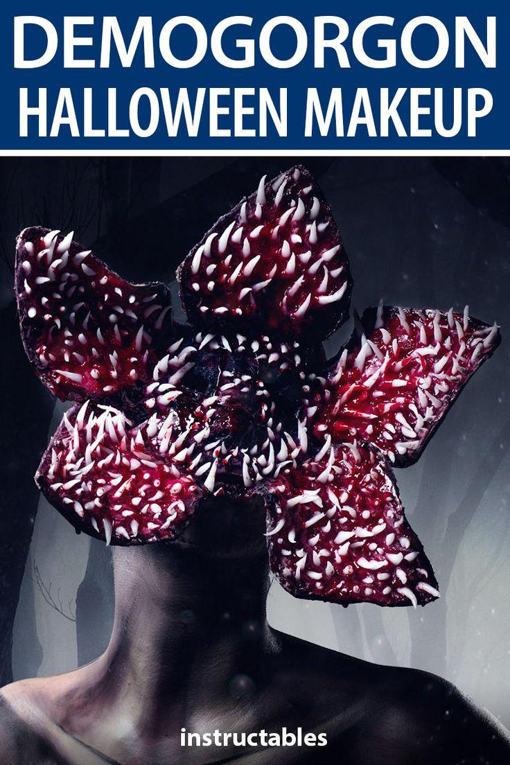 Stranger Things Halloween Makeup Tutorial