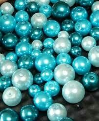 Turquoise | Aqua | Teal | blue-green | Christmas ornaments