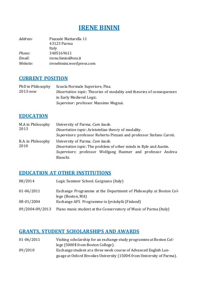 Único Calificaciones Del Curriculum Vitae Chef Foto - Ideas De ...