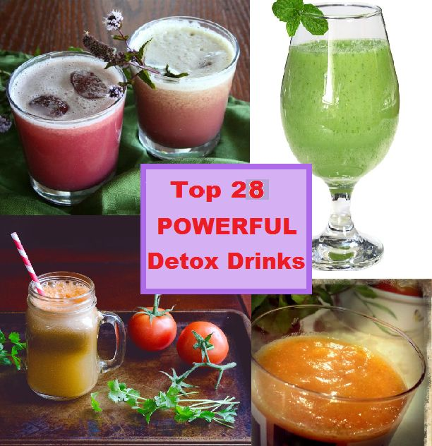top 28 powerful detox drinks to kick start the new you. Black Bedroom Furniture Sets. Home Design Ideas