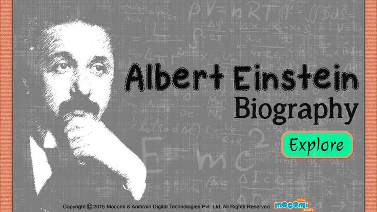 a short report on the life of albert einstein Quick guide to albert einstein's scientific achievements  this is not obvious,  because it's not how things work in everyday life, where, for example, if you move .