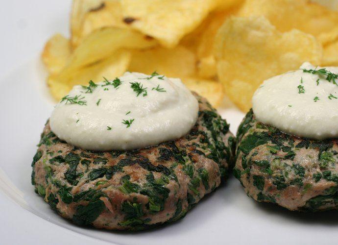 Hamburguesas de carne y espinacas para #Mycook http://www.mycook.es/cocina/receta/hamburguesas-de-carne-y-espinacas