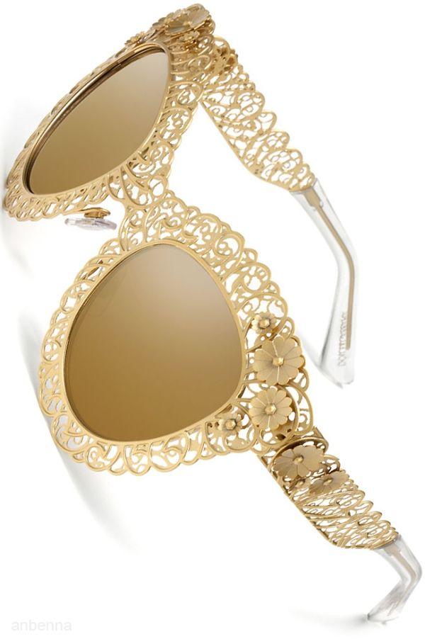 Dolce & Gabbana gold #sunglasses http://www.smartbuyglasses.com/designer-sunglasses/Dolce-&-Gabbana/Dolce-&-Gabbana-DG2134-Filigrana-02/13-211619.html?utm_source=pinterest&utm_medium=social&utm_campaign=PT post