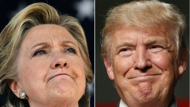 Four days left in the election and 2016 presidential election candidates Hillary Clinton and Donald Trump making their closing arguments and Both candidates are trying to convince the voters to support them . Hillary is criticizing trump for his views about minorities and women. On the other hand Trump is criticizing Hillary or her emails and other scandals.