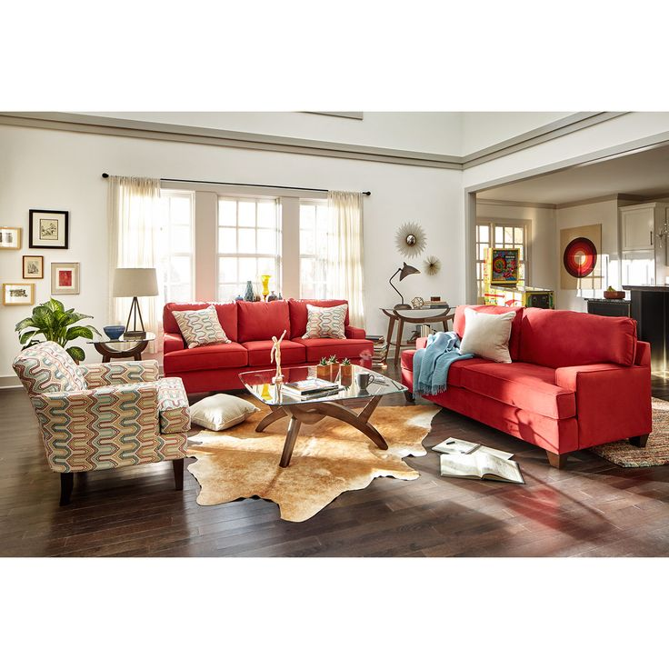 top red living room casual. Midtown Cocktail Table Walnut American Signature Furniture Living Room Top Red Casual
