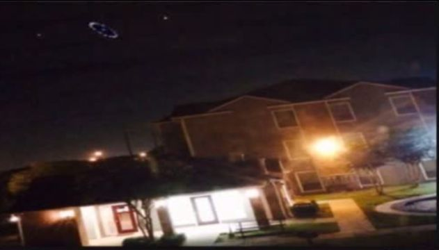 """Were there UFOs over Houston ~  Monday night and Tuesday morning show something floating through the skies over the Houston area.  """"I think the trick in UFO's is figuring out what else they could be. It's easy to say that could be the aliens,"""" said Dr. Carolyn Sumners, vice president for astronomy at the Houston Museum of Natural Science."""