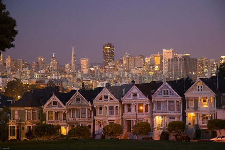 The painted ladies: Favorite Places, Quintessentially Sf, California Dreamin, Dreamed Cities, San Francisco, Painted Ladies