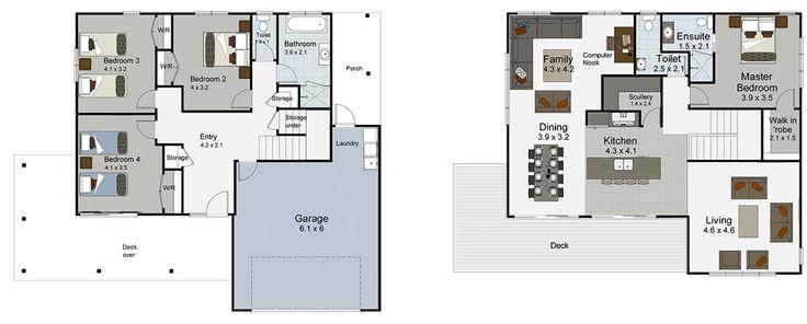 Solo 4 bedroom house plan Landmark Homes builders NZ