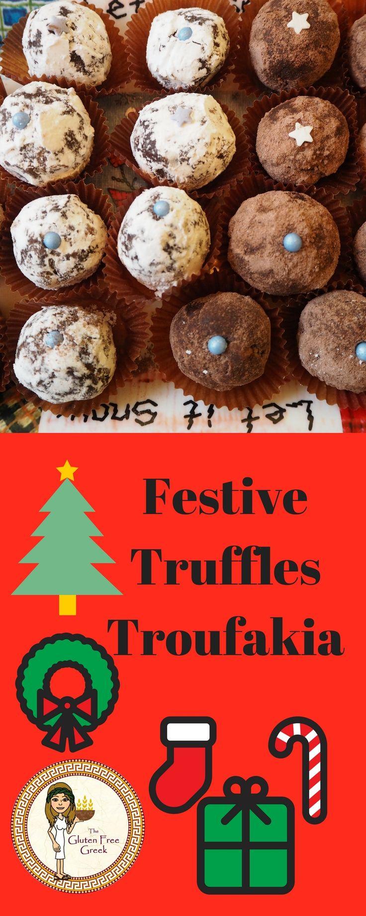 Festive Truffles Troufakia Gluten Free, Wheat Free