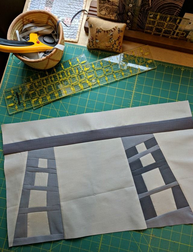 A Quilter's Table: Swinging
